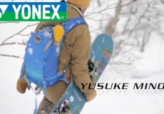 YONEX SNOWBOARD 2015/2016 YUSUKE MINO × ACCUBLADE SPECIAL MOVIE