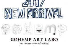 GOHEMP ART LABO シリーズ 入荷しました!