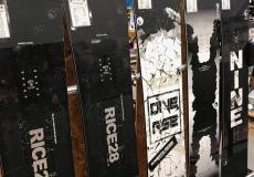 スノーボード試乗機リスト③ 立山山麓スキー場NEWMODEL試乗会