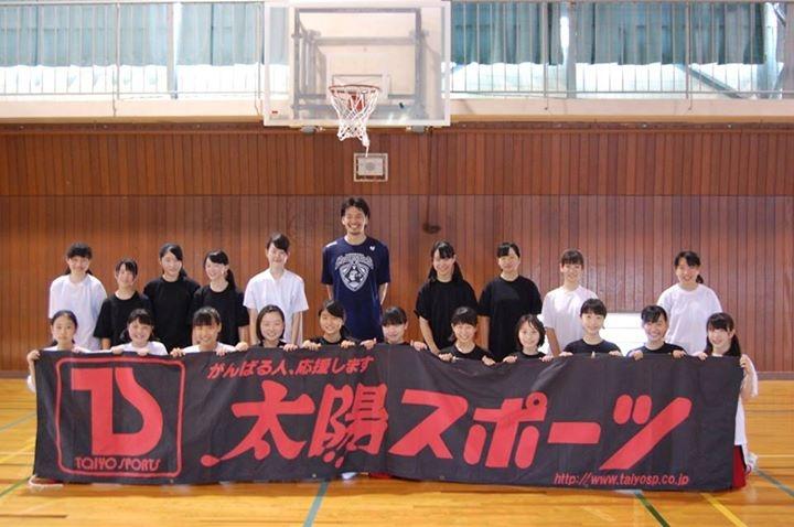 太陽スポーツ プレゼンツ  堀川竜一選手 バスケットボールクリニック!!