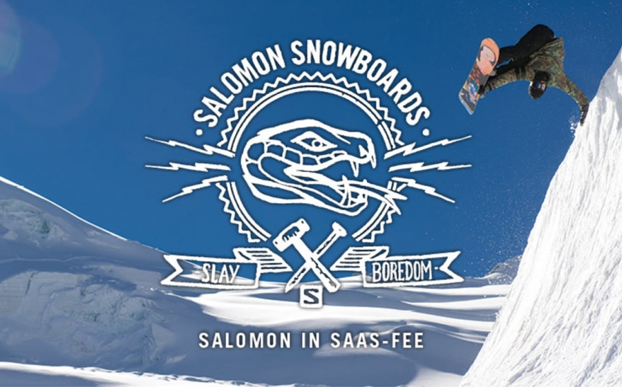 SALOMON  SNOWBOARDからDr.S!?が来店中!!