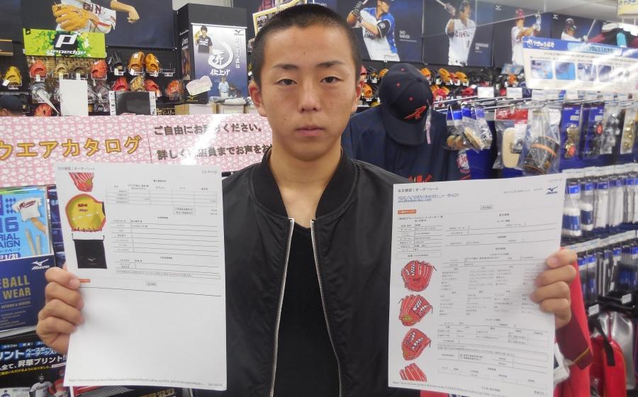 新春 野球イベント オーダーグラブ半額フェアミズノ当選者決定!!
