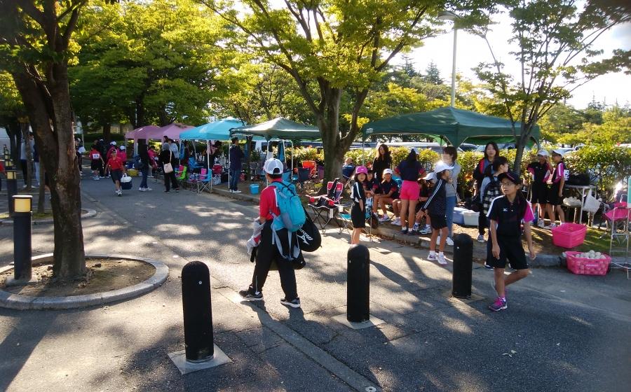 富山県小学生ソフトテニス大会フレンドシップ