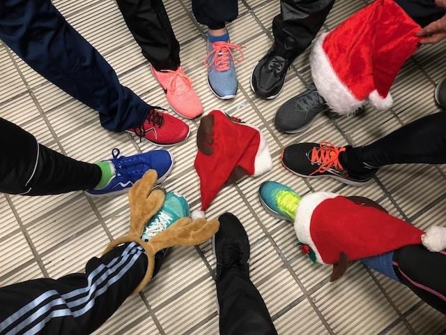 クリスマス先取り外RUN!