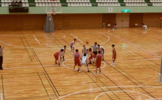 二日目、高校バスケ新人大会