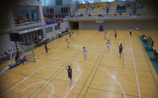 第57回富山県中学校総合選手権大会バスケットボール競技が開催