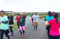富山マラソンに向けて! 第2回 『3時間走』