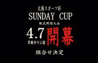 太陽スポーツ杯サンデーカップ組み合わせ決定