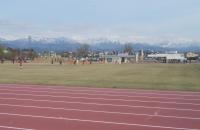 滑川ホタルカップ少年サッカー大会開幕。