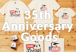CHUMS 35周年!!