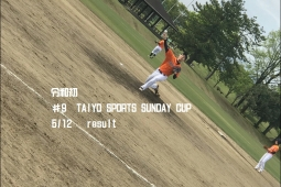 令和初 第9回太陽スポーツ杯サンデーカップ 5/12試合結果