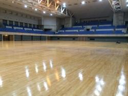 富山市総合体育館リニューアルオープンもうすぐです!!
