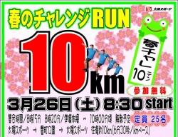 ランニング日記 3月17日 「チャレンジRUN独り試走会」