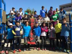 好天の中「春のチャレンジRUN 10km」