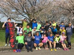 砺波店〝お花見RUN″ 報告&4月23日〝ゆるRUN″ のお知らせ