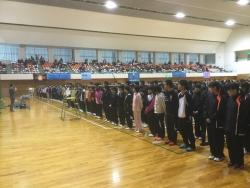 第9回太陽スポーツ杯小中学生バドミントン大会結果