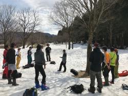 雪上ビーコン講習会BASIC、開催されました!