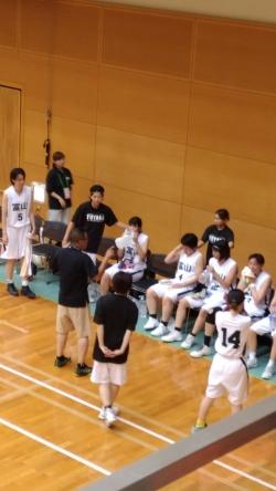 愛媛国体へ富山県成年女子バスケットボール大会の応援に行ってきました。