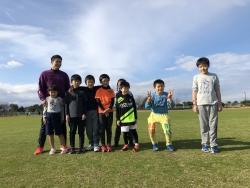 2019/12/21 子供達のかけっこ教室!(^^)!
