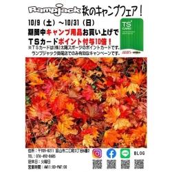 秋キャンプフェア開催