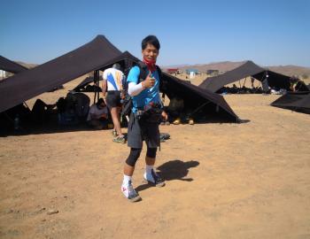 【ご来店】サハラ砂漠250km完走!! 山田智也さん
