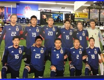 日本代表と写真を撮ろう!!