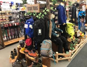登山用品・トレラン用品クリアランスセール開催